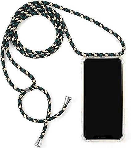 Surakey Silikon H/ülle f/ür iPhone 7 Plus//8 Plus Handykette H/ülle mit Umh/ängeband,Transparent TPU Silikon Handyh/ülle Schutzh/ülle mit Kordel zum Umh/ängen Necklace H/ülle f/ür iPhone 7 Plus//8 Plus,Rose Gold
