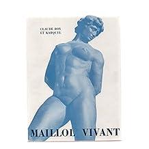 Maillol vivant. photographies de karquel
