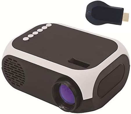 QLPP Mini proyector, Bolsillo TFT LCD portátil Proyector de Pico ...
