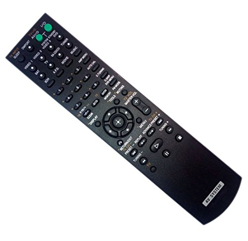 Replaced Remote Control for Sony RMAAU019 STR-DG710 RM-AAU006 STR-DG500 148009711 Home Theater Audio/Video Receiver AV System