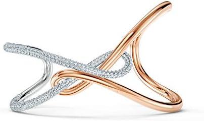SWAROVSKI Infinity Cuff Bracelet