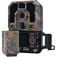 Eyeleaf Digital Hunting Camera (12 MP) 1080P Waterproof Trail Scouting Game Camera for Tracking Wild Animals