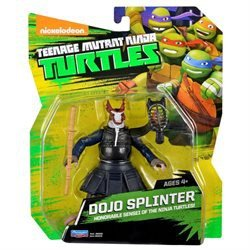 Teenage Mutant Ninja Turtles Nickelodeon Dojo Splinter Action Figure
