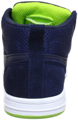 KangaROOS Skye 1131A - Zapatillas de deporte para niño Azul (Blau (dk.navy/lime 481))