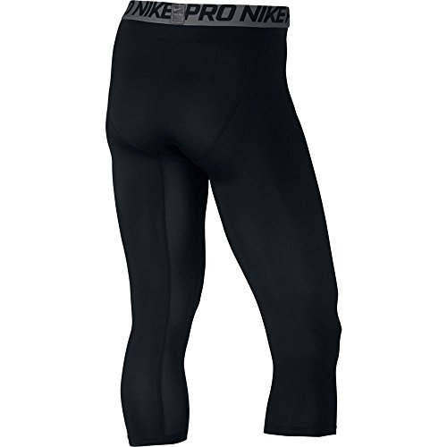 Nike Mens Pro 3/4 Tights Svart / Mörkgrå / Vit