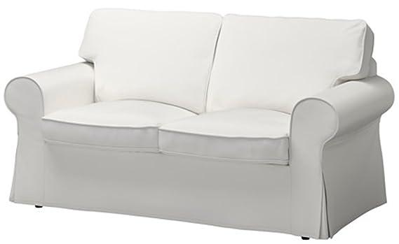 Amazon.com: La funda de sofá cama Ektorp de dos plazas ...