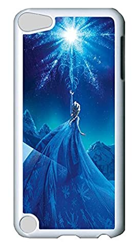 iPod Touch 5 Case, iPod 5 cases - Anti-Scratch White Back Case Cover for iPod 5 Frozen Animation Movie Film Perfect Fit Hard Back Case Cover For iPod Touch (Frozen Ipod Cases 5th Generation)