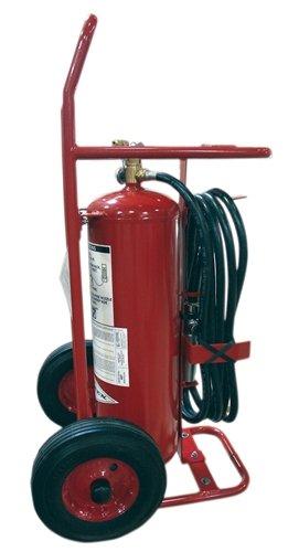 Amerex 495, 50lb ABC Dry Chemical Class A B C Wheeled Fire Extinguisher (Wheeled Extinguisher Fire)