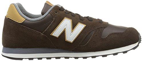 New Balance ML373BSO - Calzado para hombre, color marrón