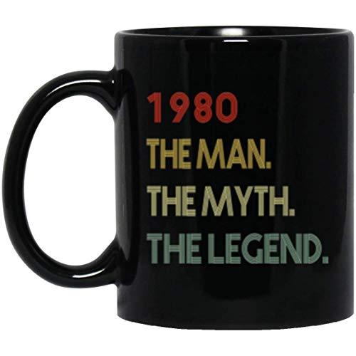 1980 The Man The Myth The Legend 39th Birthday Funny Gift Mug]()