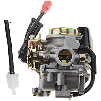 Amazon 50cc Scooter Carburetor Gy6 Four Stroke With Jet. Goofit Pd18 18mm Carburetor For 4 Stroke Gy6 49cc 50cc Chinese Scooter 139qmb Moped Taotao Kymco Jonway Baja Jmstar Lance Nst Peace Banzer. Yamaha. 2007 Yamaha 50cc Scooter Fuel Line Diagram Picture Placement Baja At Scoala.co