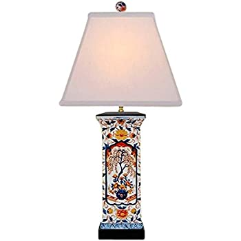 Chinese porcelain square vase floral imari motif table lamp 28 chinese porcelain square vase floral imari motif table lamp 28 aloadofball Images
