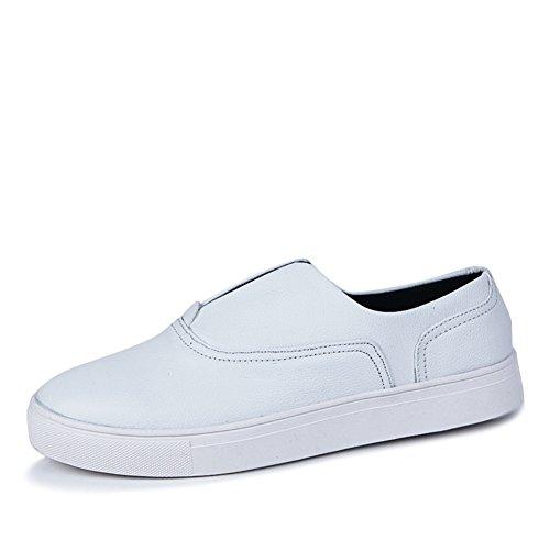 Un pedal Board verano moda ocio zapatos/Cómodo y transpirable simples zapatos de los hombres blanco