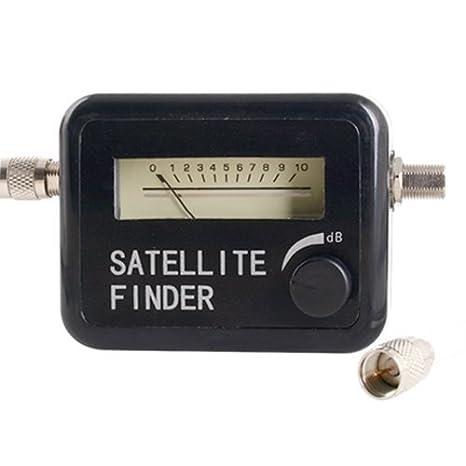 Busca Satélite Satellite Finder Medir Indensidad Señal: Amazon.es: Electrónica