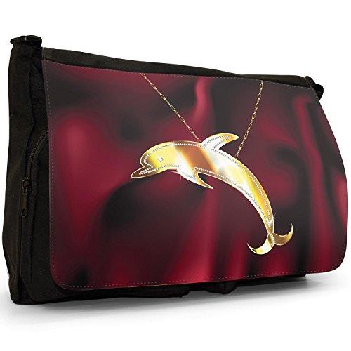 Dolphin Fancy Femme L'épaule Porter À Chain Jumping Sac On Pour Snuggle A qBrwZq7z