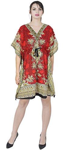 - SKAVIJ Womens Short Caftan Beach Blouses Cardigan Kimono Bikini Cover Up Kaftan Ladies Item