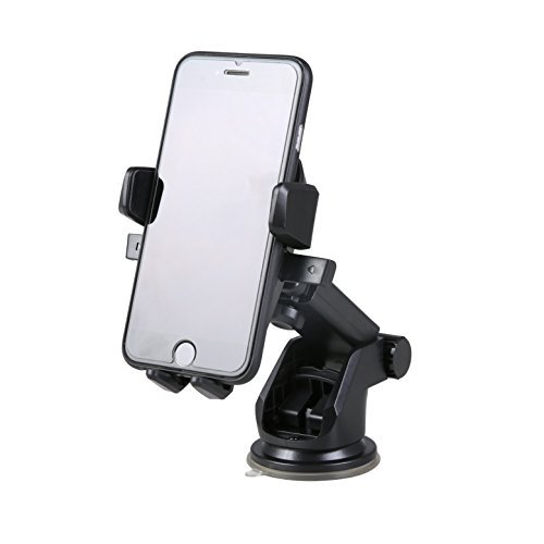 Ibra 174 360 176 Easy One Touch Car Mount Phone Holder For