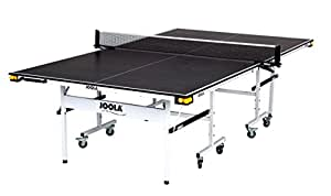 JOOLA Rally TL 300 15mm 5/8 Inch Professional Grade Table Tennis Table with Net Set, Ball Holders and Abacus Scorer
