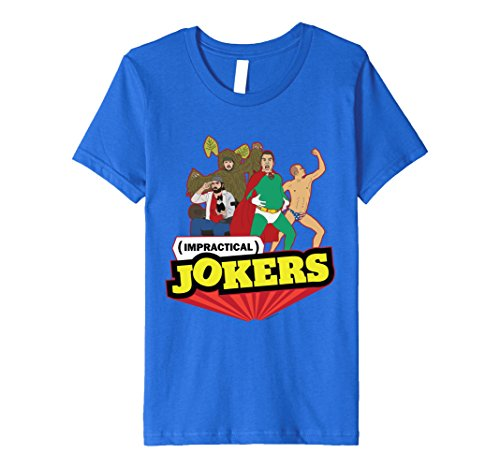 Kids Super Jokers T-Shirt 12 Royal Blue