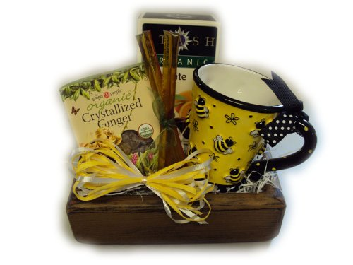 Tea Time Healthy Gift Tray by Well Baskets