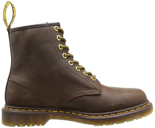 Dr. Martens 1460, Bottes Mixte Adulte Marron (Marron Aztec Crazy Horse 200)