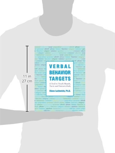 Verbal Behavior Targets: Diana Luckevich Ph.D.: 9780975585948 ...