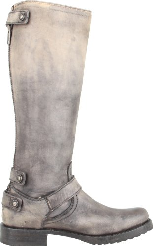 Women's Frye Back Veronica Stone Boot Washed Stone Zip zHn84xwH