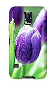Discount Galaxy S5 Case Cover - Slim Fit Tpu Protector Shock Absorbent Case (tulip) EJVHUWXGDVFHZLXO