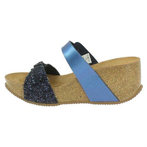 L'espadrille De Maison Bleu Femme 3550 w5qqdx1O