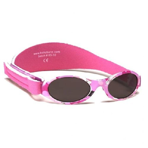 Kidz Banz Adventurer Sunglasses 2-5 Years - Pink Camouflage by Baby Banz