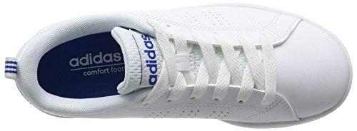 adidas Vs Advantage Clean K, Zapatillas de Deporte Unisex Niños blanco