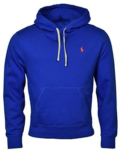Polo Ralph Lauren Men's Fleece Pullover Hoodie - M - Blue