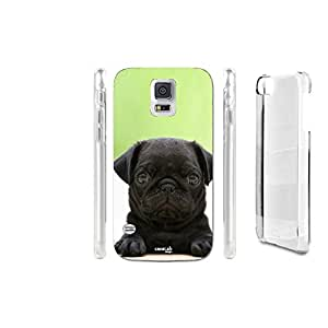FUNDA CARCASA BLACK PUG CARLINO PARA SAMSUNG GALAXY S5 PLUS G901F