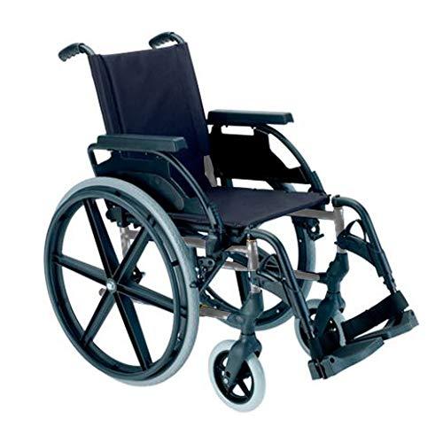 Silla de ruedas manual en acero plegable Breezy 250 asiento 40 cm: Amazon.es: Hogar