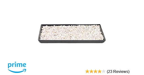 """Brussel/'s 13/"""" Humidity Tray with Decorative Rocks 13/"""""""