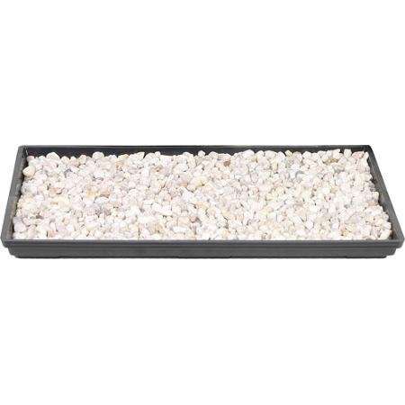 Brussel's 13″ Humidity Tray with Decorative Rocks