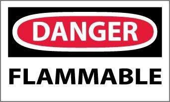National Marker D533RB''Danger High Voltage Overhead'' Rigid Sign, Black, Red, White,