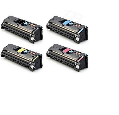 Awesometoner Generic Compatible Toner Cartridge Replacement for HP Q3960A ( Black,Cyan,Magenta,Yellow ) ()