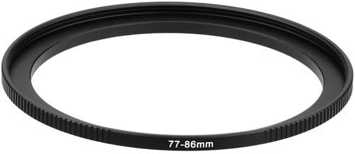 Sensei PRO 77mm Lens to 86mm Filter Aluminum Step-Up Ring 2 Pack