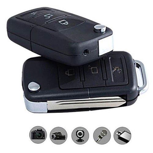 Cámara espía oculta en un llavero de coche Llavero espía Cámara espía Llavero de coche para grabaciones de video secretas