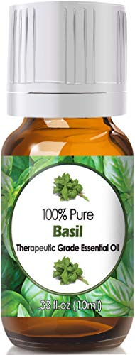 Basil Essential Oil for Diffuser & Reed Diffusers (100% Pure Essential Oil) 10ml