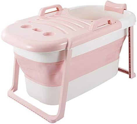 折りたたみ式バスタブ割れ防止ポータブル浴槽滑り止め/カバー付/二重層大人用バスタブ断熱バスタブ浸漬バスタブPP素材子供用浴槽トラベル浴槽フルボディ風呂バレル117 * 65 * 60 cm
