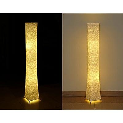 '52Lampe sur pied lampadaire moderne chaleureux chambre salon 20* 20* 132cm Soft Lighting