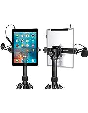 Neewer Supporto Clip da Treppiedi per iPad Tablet, 16-23,5cm Regolabile per iPad Mini iPad 2/3/4, iPad Air/Air2, iPad Pro, Microsoft Surface, Samsung Tab 7.0 Serie