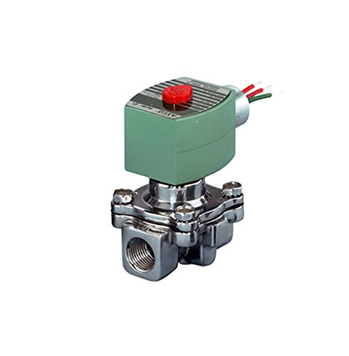 ASCO 8040H007-120/60,110/50 Aluminum Body Direct Acting Fuel Gas Shutoff Valve, 1/4