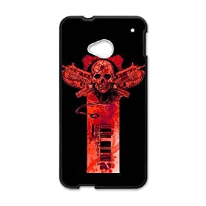 HTC One M7 Cess Phone Case Black Gears of War NF3664553