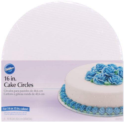 Wilton 16-Inch Cake Circle, 6-Pack by Wilton