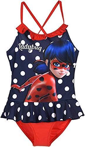 Miraculous Ladybug Maillot de Bain Bleu Nuit /ét/é 2020 Froufrou