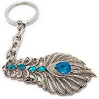 Key Tech OMG Movie Lord Krishna Metal Keychain (Silver)