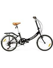 """Moma Bikes, Bicicletta Pieghevole Ruota 20"""" Shimano. Alluminio"""